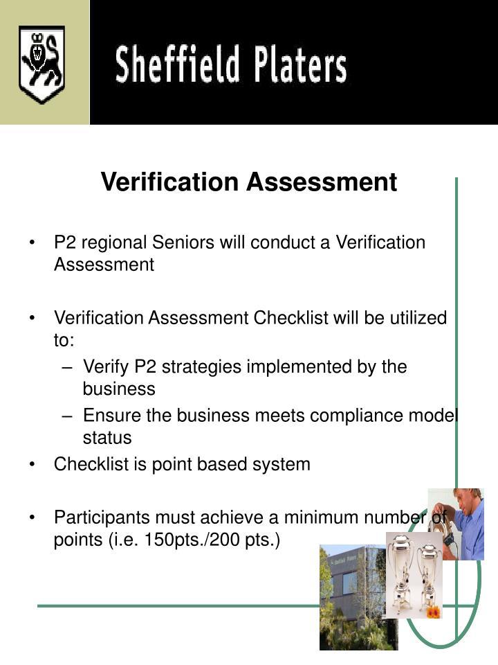 Verification Assessment