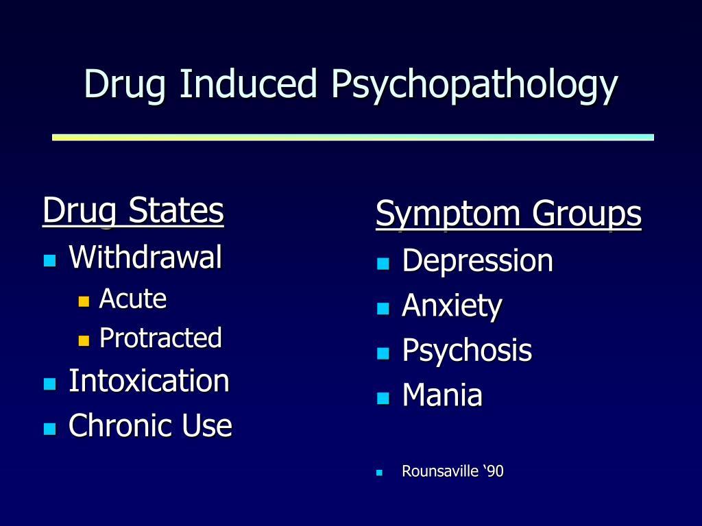 Drug States