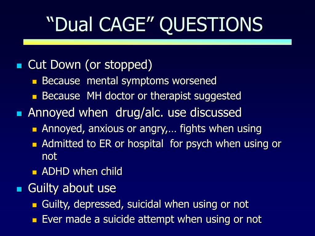"""""""Dual CAGE"""" QUESTIONS"""