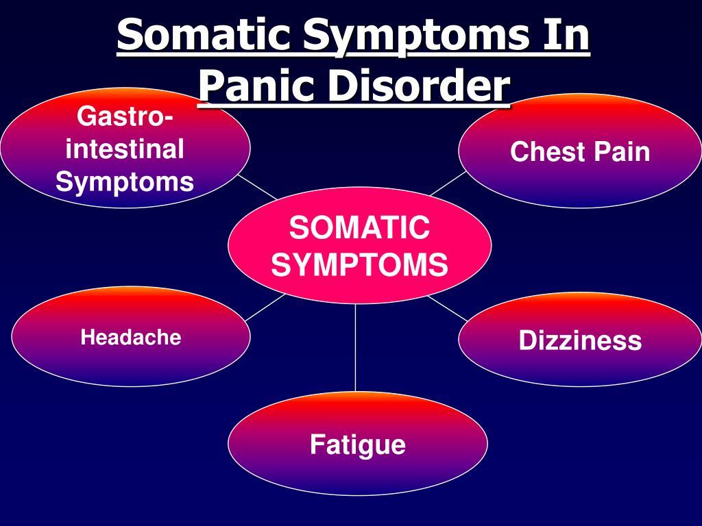 Somatic Symptoms In Panic Disorder