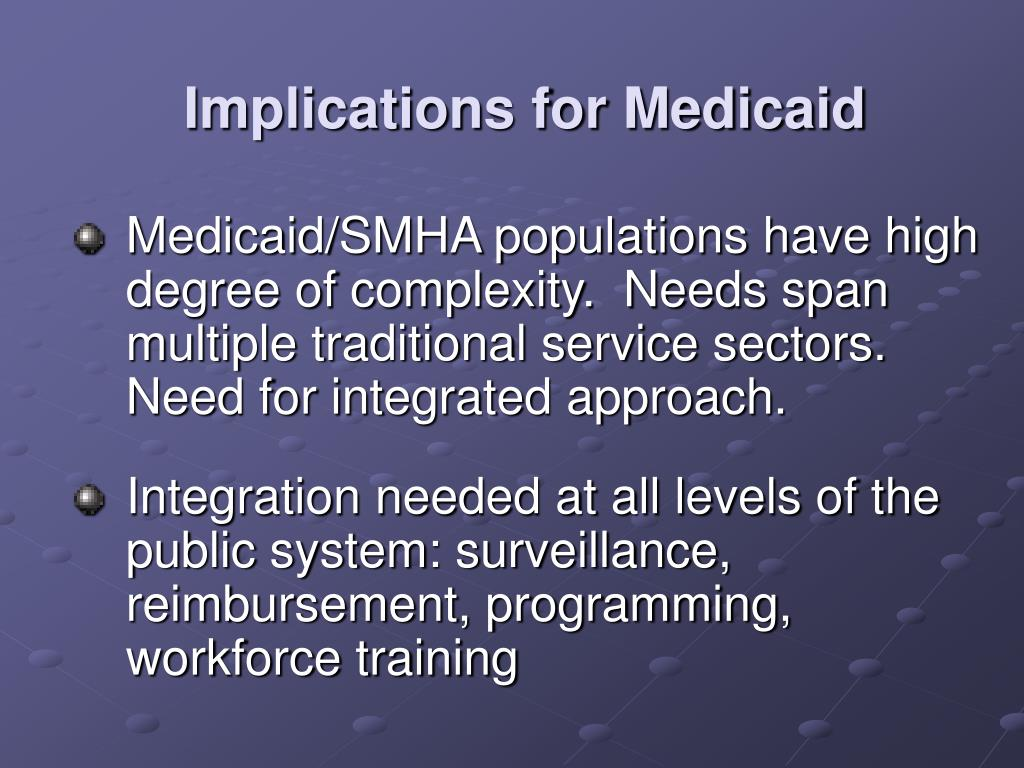 Implications for Medicaid