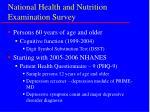 national health and nutrition examination survey9