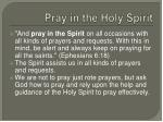pray in the holy spirit1