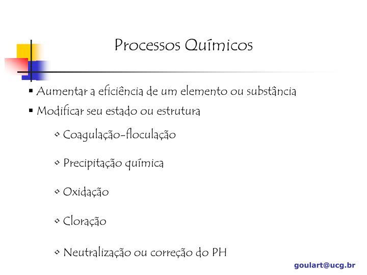 Processos Químicos