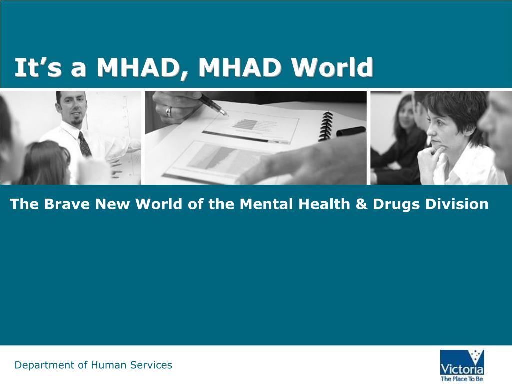 It's a MHAD, MHAD World