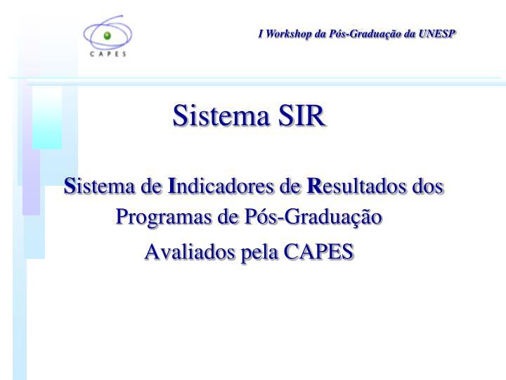 Sistema SIR
