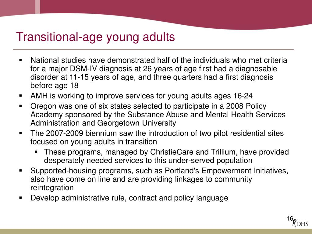 Transitional-age young adults