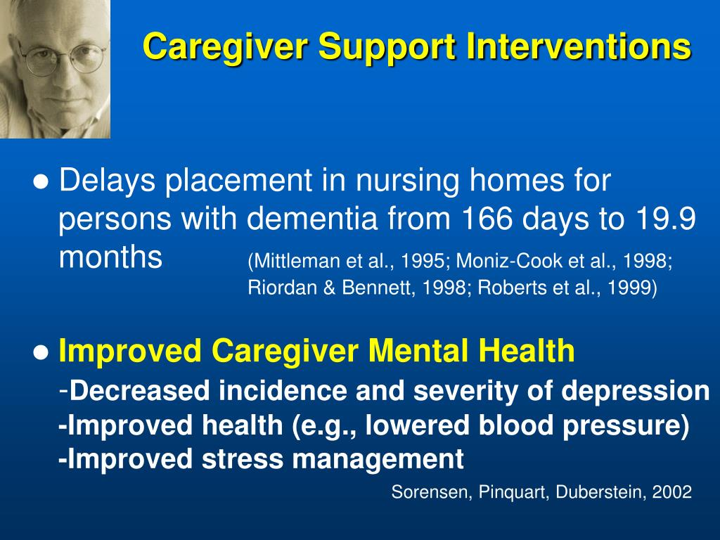 Caregiver Support Interventions