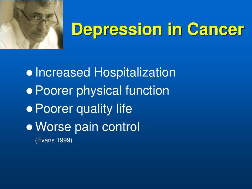 Depression in Cancer