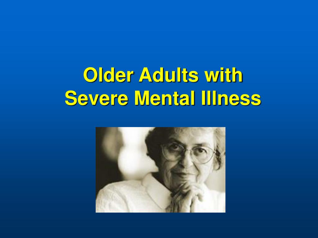 Older Adults with
