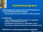 outreach programs41