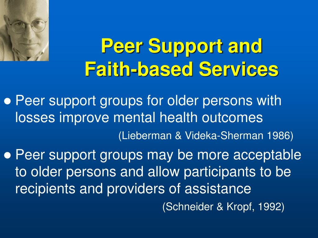 Peer Support and