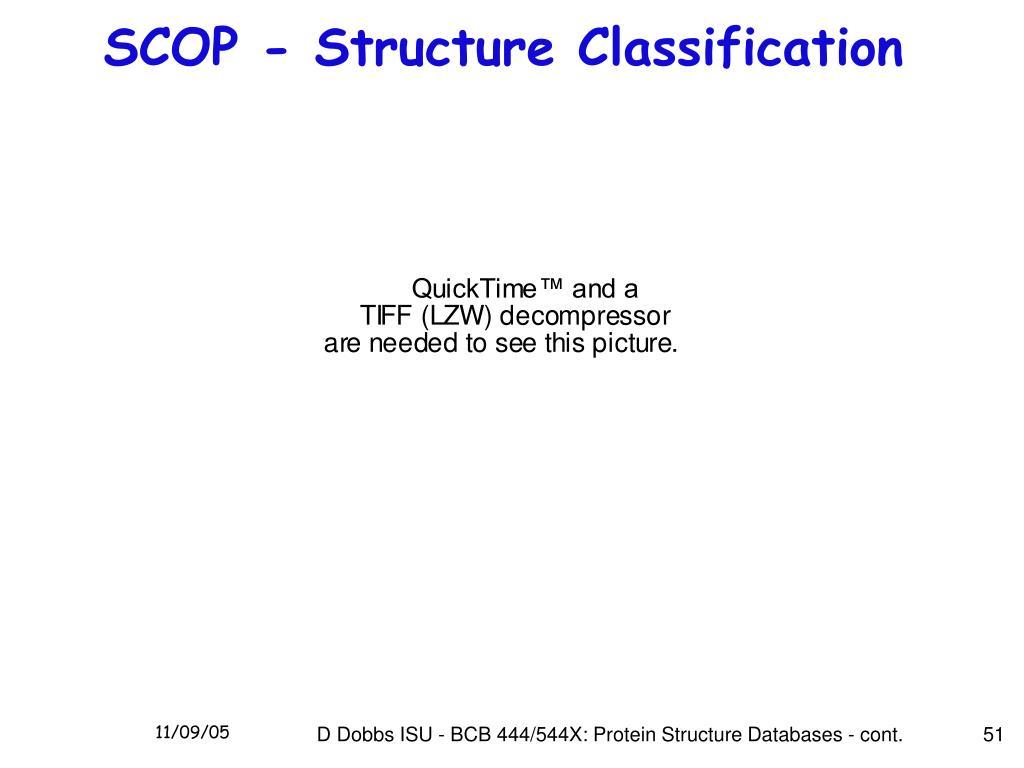 SCOP - Structure Classification
