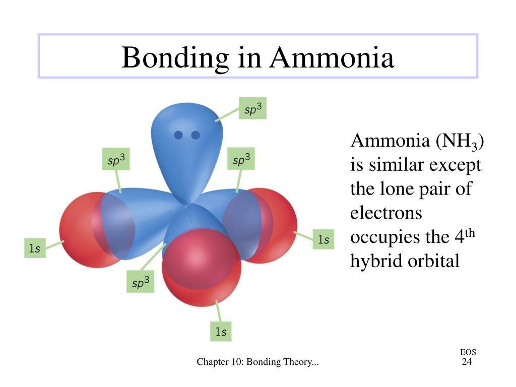 Bonding in Ammonia