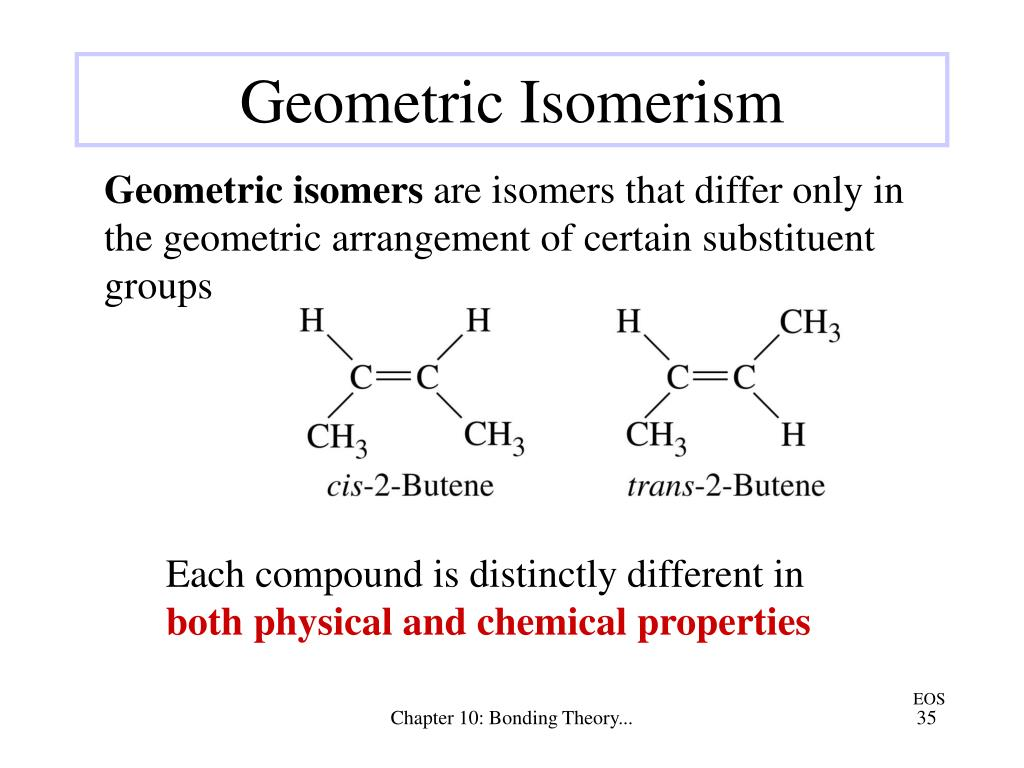 Each compound is distinctly different in