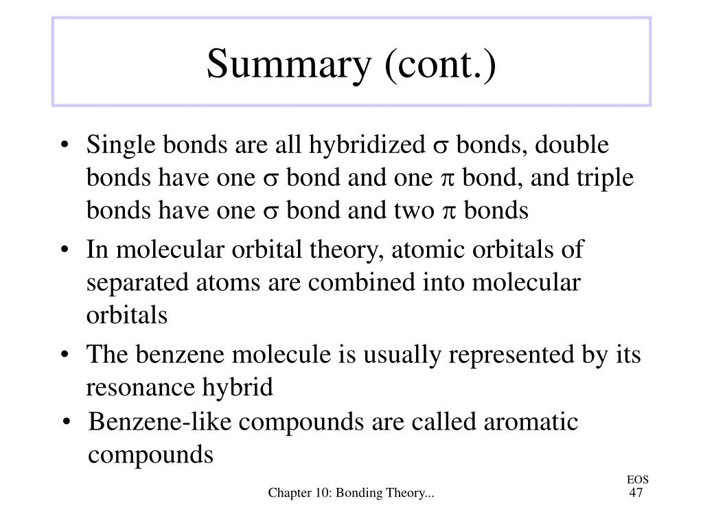 Benzene-like compounds are called aromatic compounds