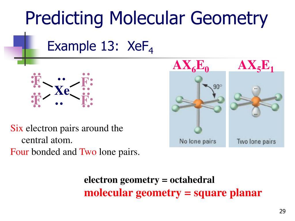 xef4 molecular geometry - photo #31