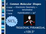 c common molecular shapes10