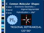c common molecular shapes12