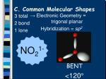 c common molecular shapes8