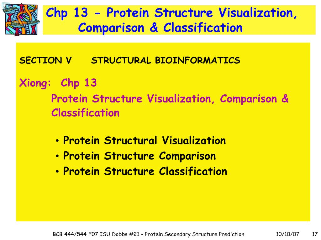 Chp 13 - Protein Structure Visualization, Comparison & Classification