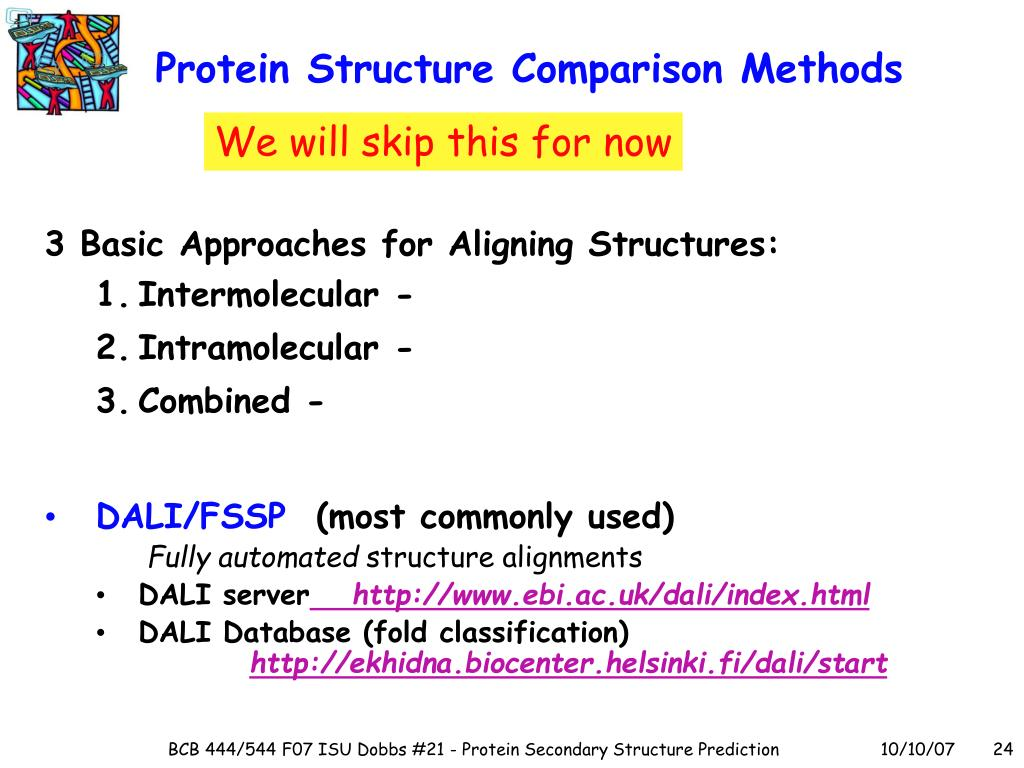 Protein Structure Comparison Methods