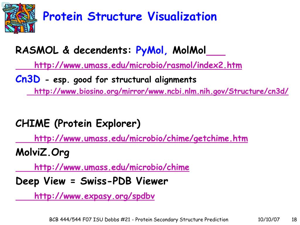 Protein Structure Visualization