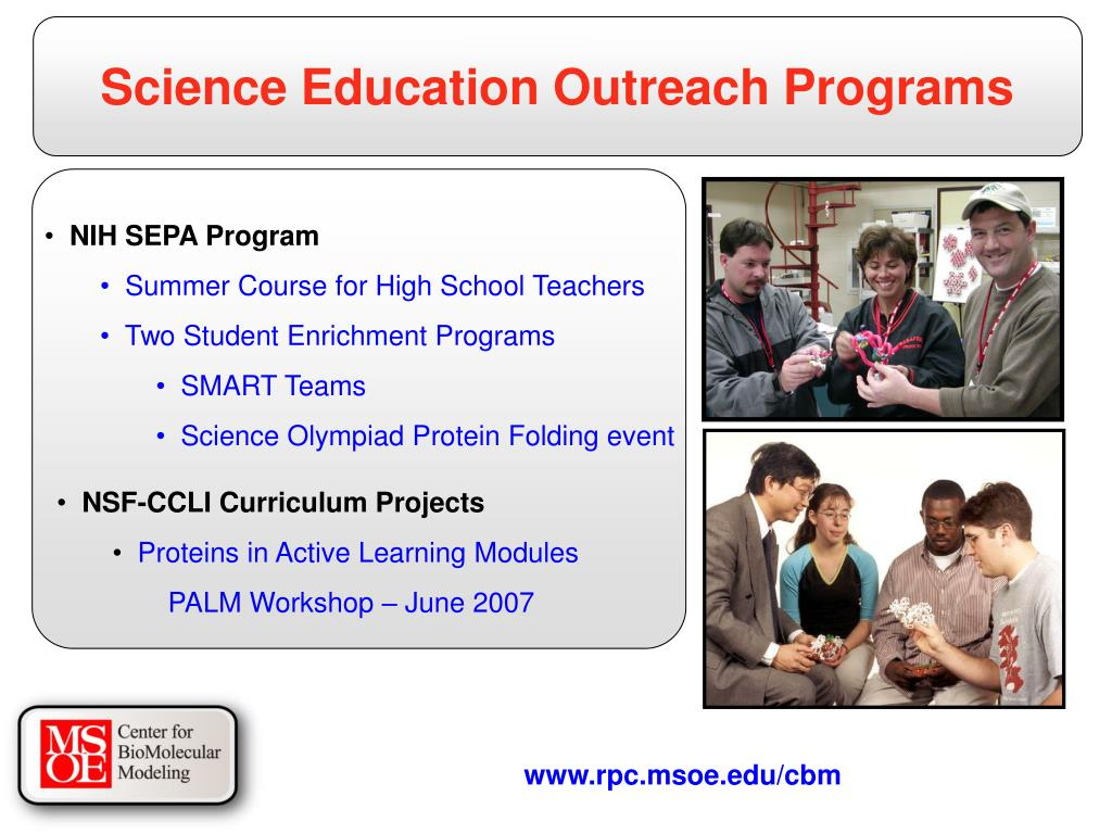 Science Education Outreach Programs