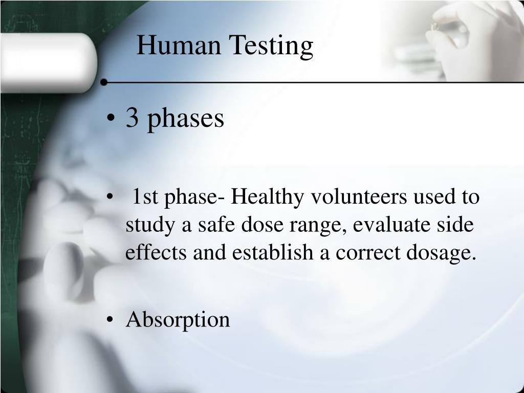 Human Testing