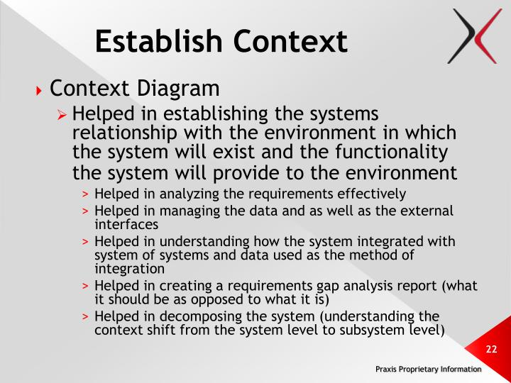Establish Context