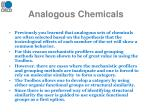 analogous chemicals