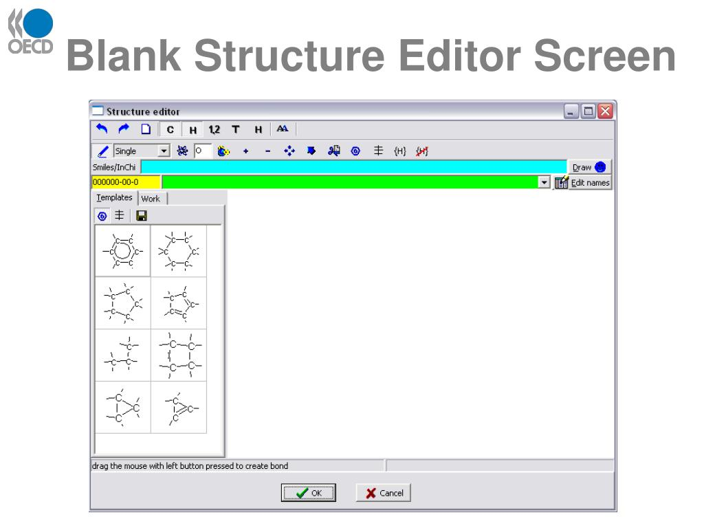 Blank Structure Editor Screen