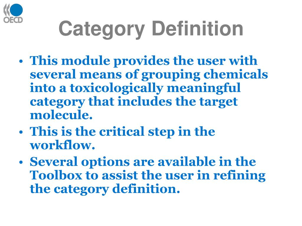 Category Definition