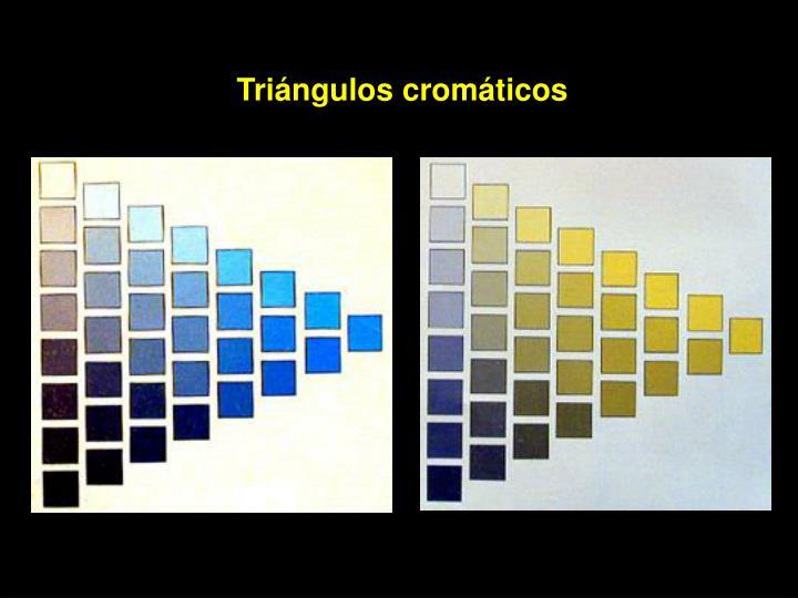 Triángulos cromáticos