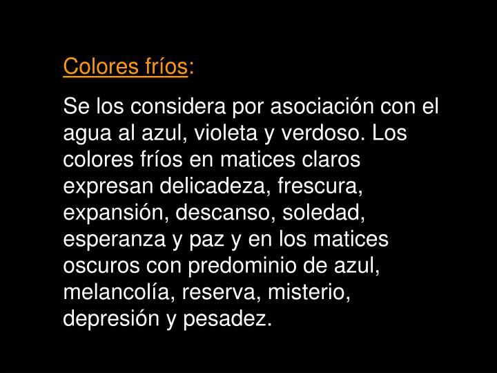 Colores fr