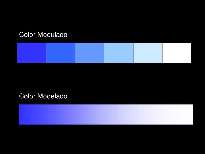 Color Modulado