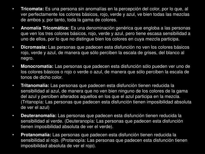 Tricomata: