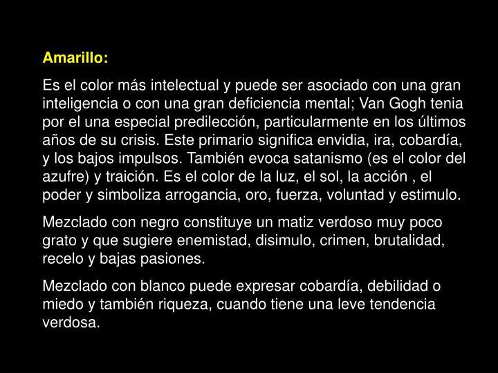 Amarillo: