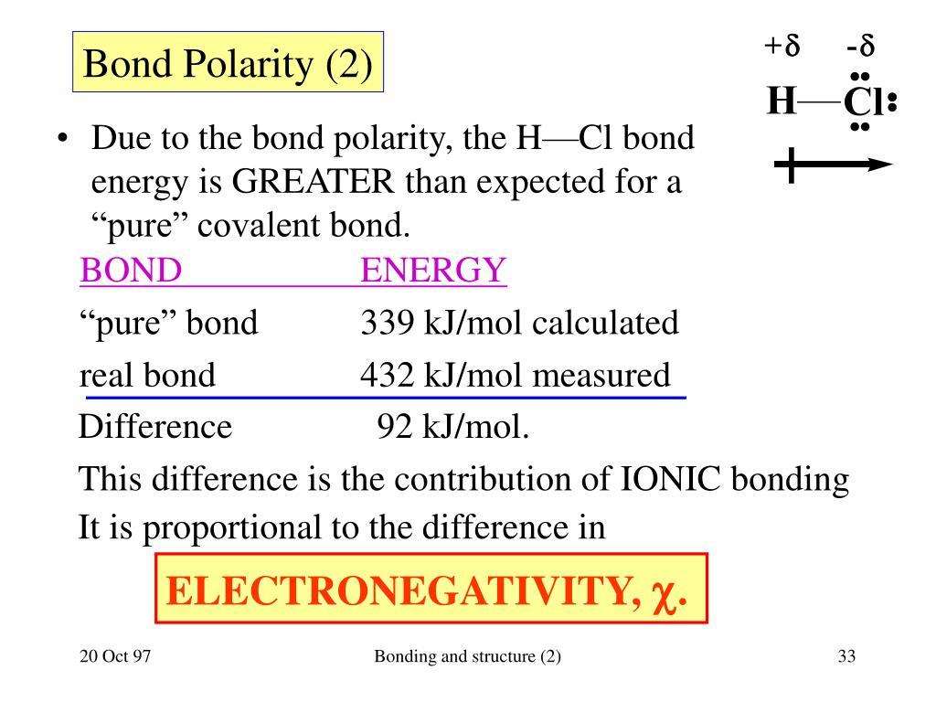 Bond Polarity (2)