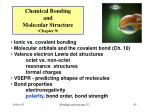 chemical bonding and molecular structure chapter 943