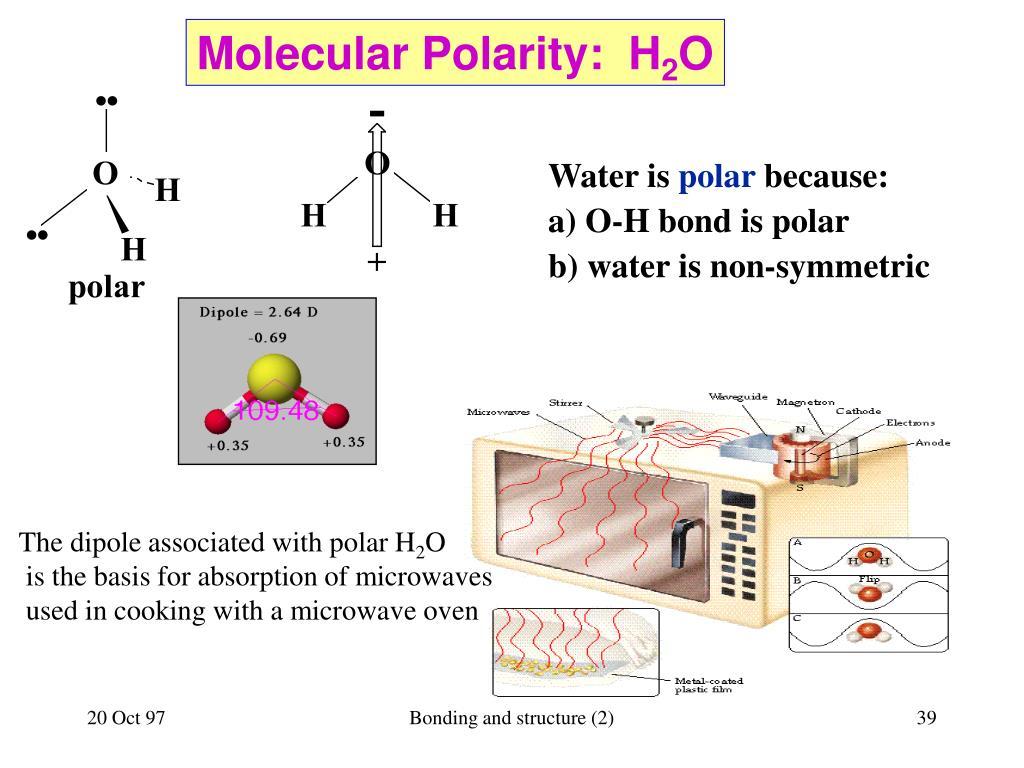 Molecular Polarity:  H