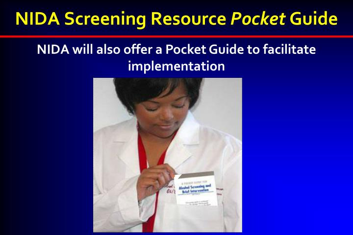 nida drug screening tool pdf