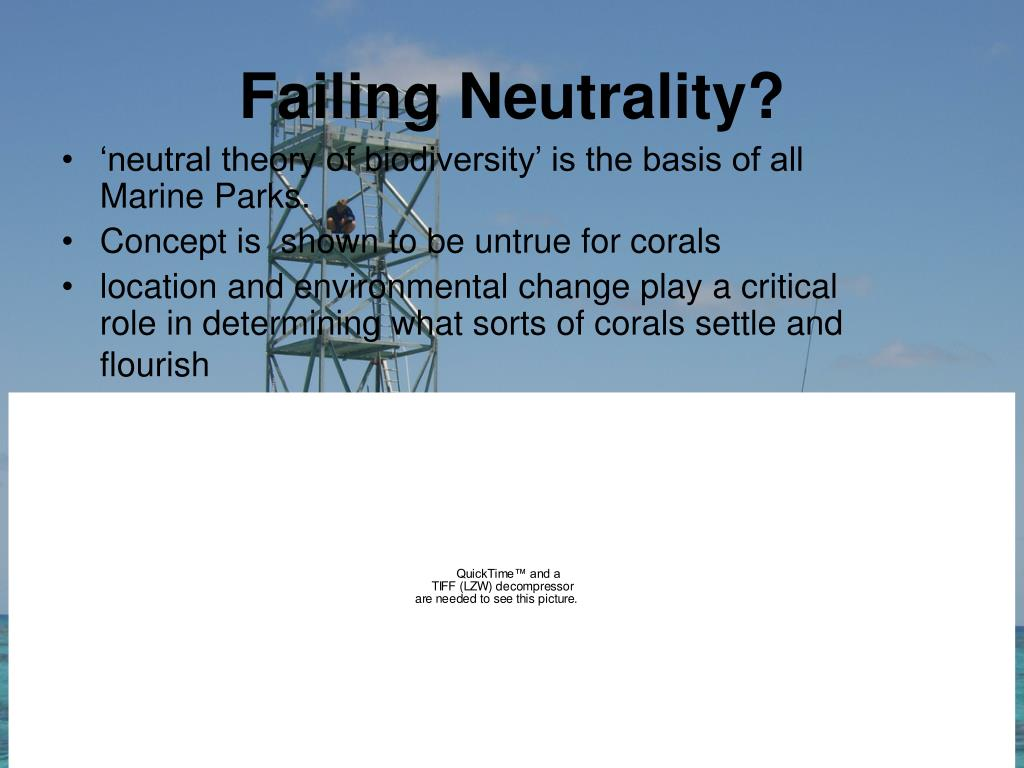 Failing Neutrality?