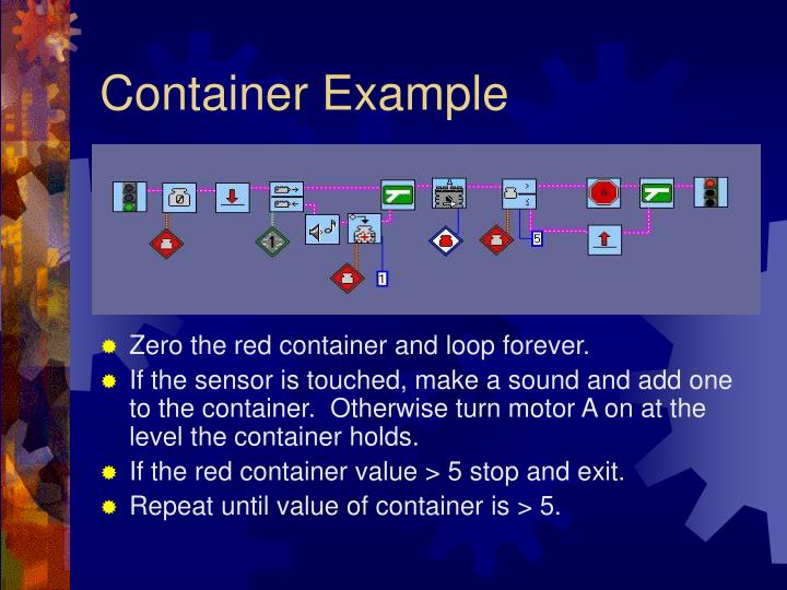 Container Example