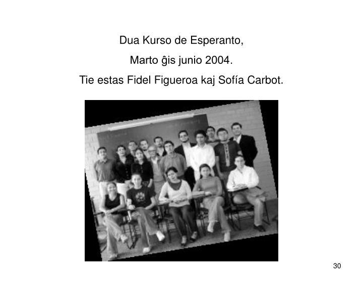 Dua Kurso de Esperanto,