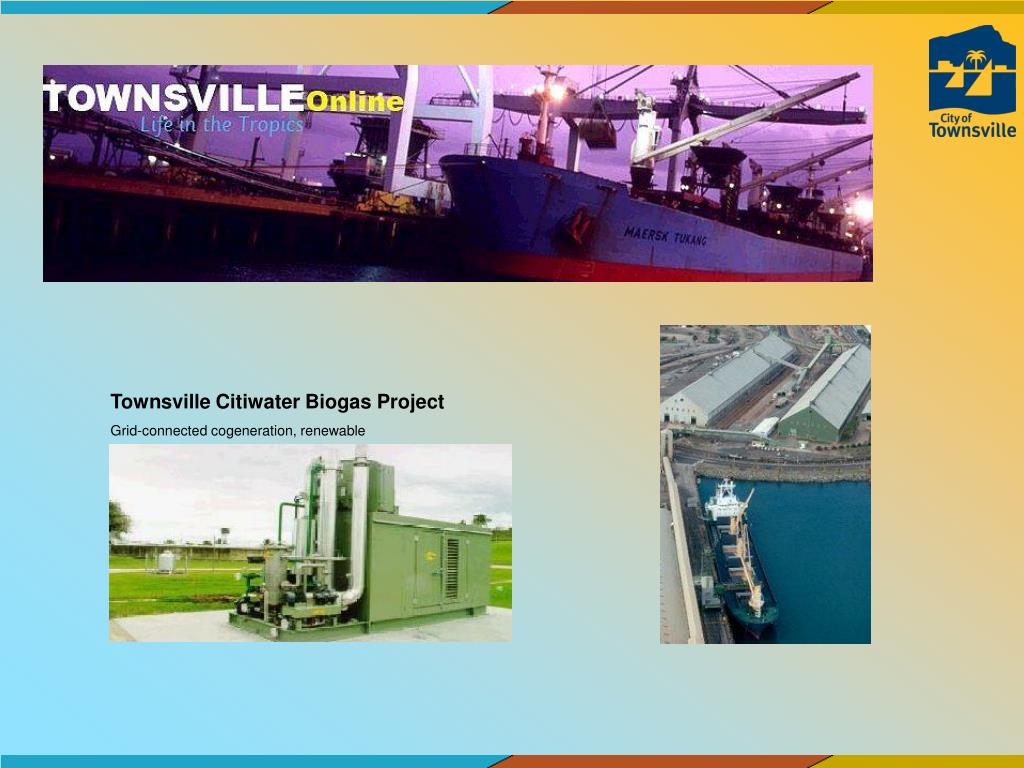 Townsville Citiwater Biogas Project