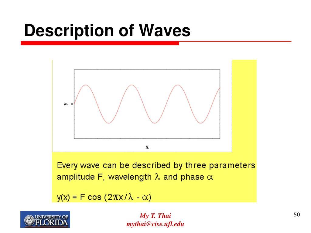 Description of Waves