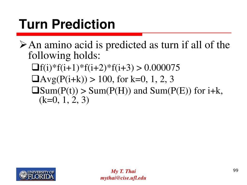 Turn Prediction