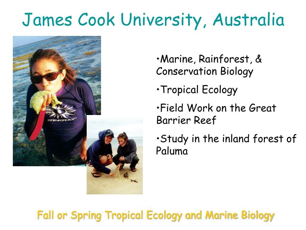 James Cook University, Australia