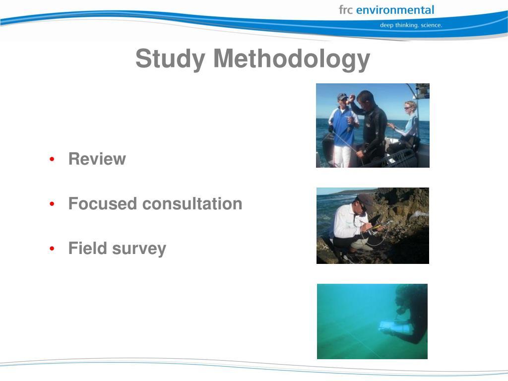 Study Methodology
